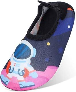 MASOCIO Zapatos de Agua para Niños Secado Rápido y Antideslizante Escarpines Verano para Playa Piscina Natacion