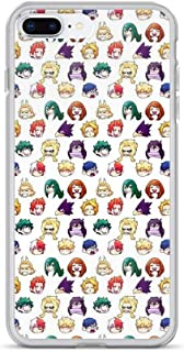 iPhone 7 Plus/8 Plus Pure Clear Case Cases Cover BNHA Pattern