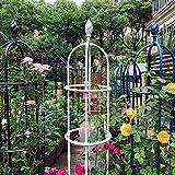 ARCH WRJ@ Gartenbogen,Rosenturm Rankhilfe Rankgitter Rosensäule Metall Pergola Obelisk Säule wetterfest Rankhilfe Kletterpflanzen