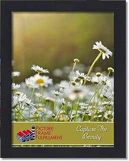 PictureFrameFactoryOutlet 16x20 Black 1.25 Inch Flat Black Moulding