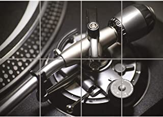 Doppelganger33LTD TURN TABLE RECORD DECK PLAYER VINYL DJ CLOSEUP GIANT ART PRINT POSTER OZ2881