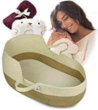 ICEBLUE HD Baby Cradle Beside Cribs Co-Sleeping Cribs Moses Basket Portable Cribs Baby Shower Gifts