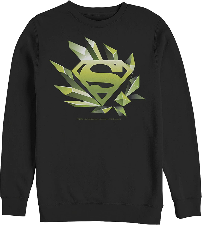 Ranking TOP12 Fifth Sun Award-winning store Men's Superman Geometric Shape Logo Sweatshirt