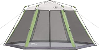 Coleman Screened Canopy Tent with Instant Setup | Back Home Screenhouse Sets Up in 60 Seconds (Renewed)