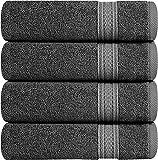 Utopia Towels - Handtücher set aus Baumwolle 700 g/m² - 100% Baumwolle, 41 x 71 cm, Grau