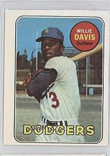 Willie Davis (Baseball Card) 1977 Dover Classic Baseball Cards Reprints - [Base] #WIDA