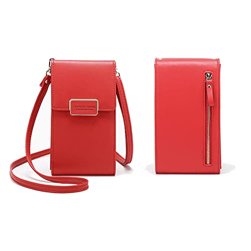 567294a047 Women Cross Body Bags Cellphone Purse Shoulder Bags Travel Pouch Girls  Leather Wallet With Adjustable Strap