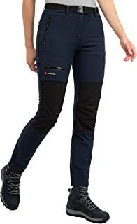 Höhenhorn Trekmaster - Pantalones de senderismo para mujer (tejido softshell)
