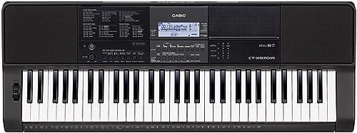 Casio CT X870IN 61 Key Portable Keyboard Black