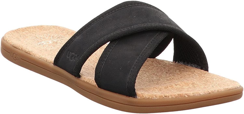 Seaside Slide, 44.5, 44.5, schwarz - braun  hohe Qualität