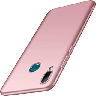 Huawei P Smart 2019 Case,Huawei Honor 10 Lite Case, Almiao [Ultra-Thin] Minimalist Slim Protective Phone Case Back Cover for Huawei P Smart 2019/Huawei Honor 10 Lite (Smooth Pink)