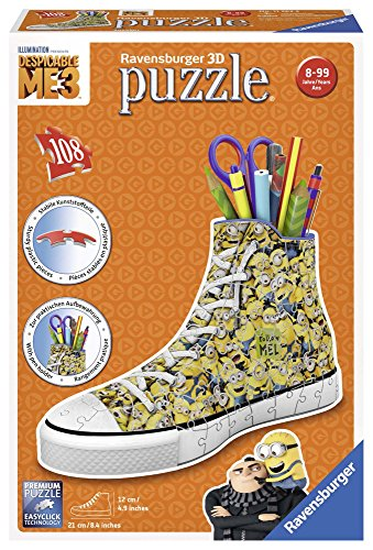 Ravensburger- Zapatilla Portalápices, Girly Girl Edition, Minions (11262)
