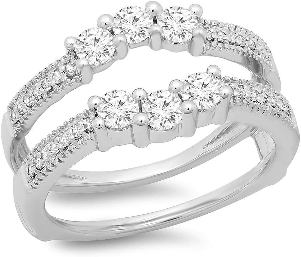 Dazzlingrock Collection Superlatite Fixed price for sale 0.80 Carat ctw Ladie 14K Round Diamond