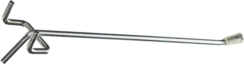 Bulk Hardware bh05346//único Pegboard Ganchos Galvanizado 75/mm para ajustarse a 19/mm/ Juego de 24/piezas /tablero