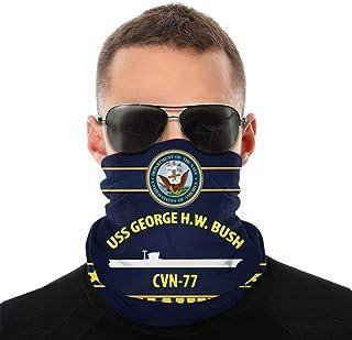 Nother USS Hw Bush Cvn77 Anime män utomhus multifunktionell variation huvudscarf vindtät ansiktsmask