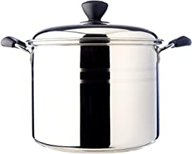 Dolphin Collection Stainless Steel Stock Pot 24cm (Sandwich Base)