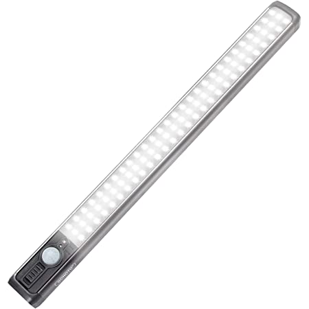 Stick Anywhere for Closet Wardrobe Kitchen Stairs Hallway Rechargeable 24 LED Ultra Small Under Cabinet Light 6 Adjustable Light Modes JESWELL LED Wardrobe Light Motion Sensor