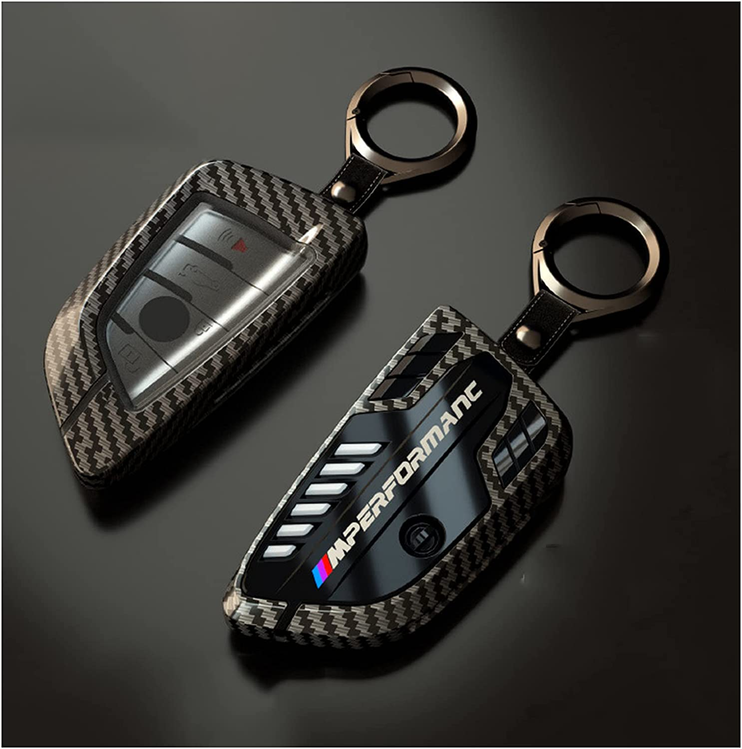 Rapid rise Max 71% OFF N B Alloy Car Key Case Cover Head Holder Engine Classic Rings