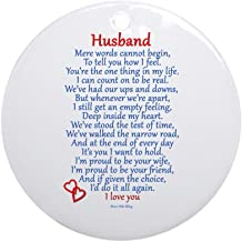 CafePress Husband Love Ornament (Round) Round Holiday Christmas Ornament