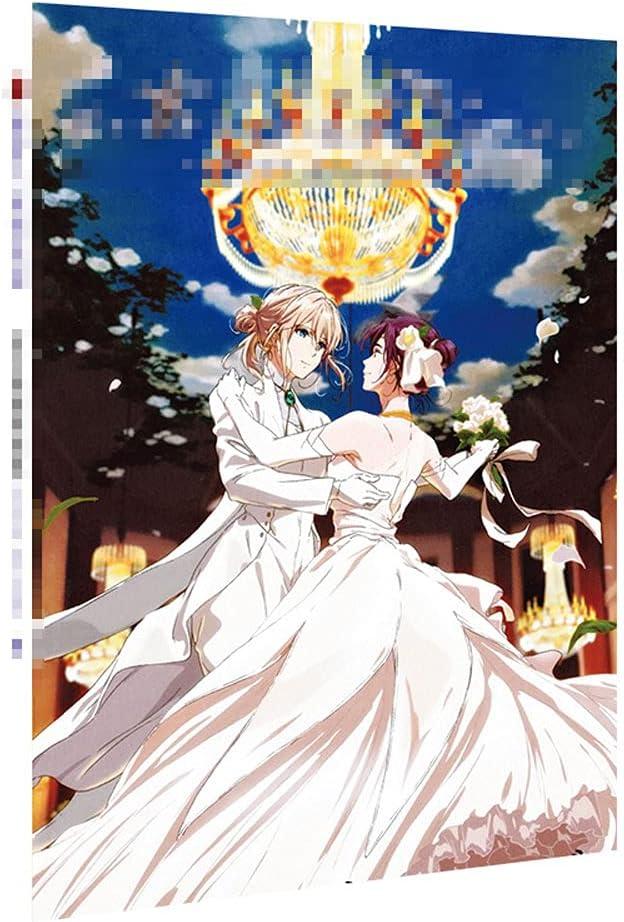 JINGXINA Violet Evergarden Jacksonville Mall Anime Illustrator OFFicial shop Periphery Folder