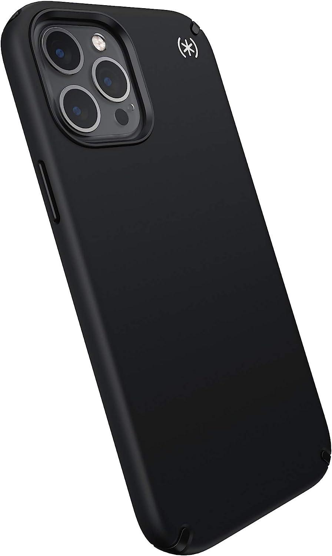 Speck Products Presidio2 PRO iPhone 12 Pro Max Case, Black/Black/White