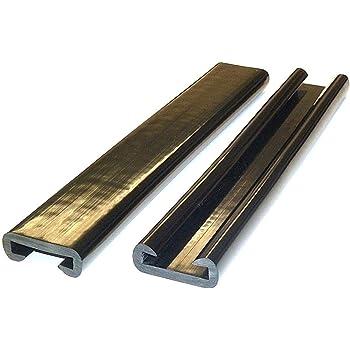 20m pvc main courante 40x8mm Escalier Main Courante plastique main courante en caoutchouc marron
