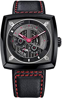 Avant-garde Industrial Design Super-LumiNova Automatic Wrist Watch Red