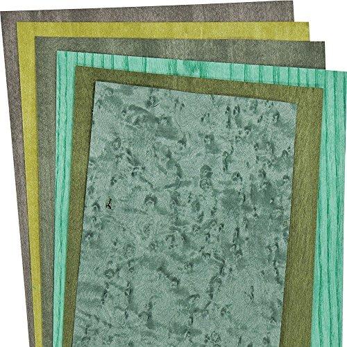 Dyed Green Shades 3 Sq. Ft. Veneer Pack