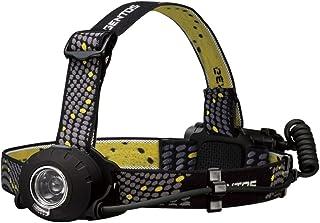 GENTOS(ジェントス) LED ヘッドライト ヘッドウォーズ 【明るさ200-500ルーメン/実用点灯5-11時間/後部認識灯】 ANSI規格準拠