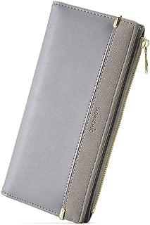 Women Bifold Pocket Wallets Girls Credit Card Case Holder Zipper Coin Purse