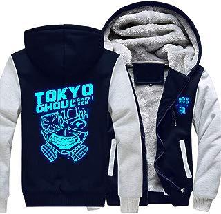 Anime Unisex Hoodie Thicken Zipper Jacket Cosplay Fleece Coat