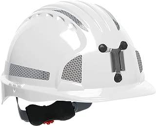 JSP 280-EV6151MCR2-10 Evolution 6151 Deluxe Mining Hard Hat with CR2 Reflective Kit