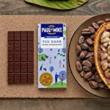 Paul And Mike 72% Plain Dark Chocolate, 68 g (Pack of 2)
