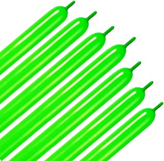 Aerfas 260q Balloons,100 Pack Thickening Latex Twisting Modelling Long Magic Balloons for Animal Model,Weddings, Birthdays, Party Decorations (Grass Green)