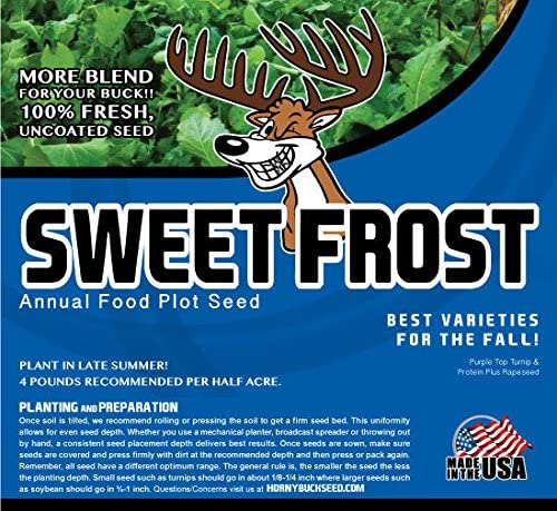 Horny Buck trust Food Plot Seed Blend Sweet All stores are sold Frost - Mix