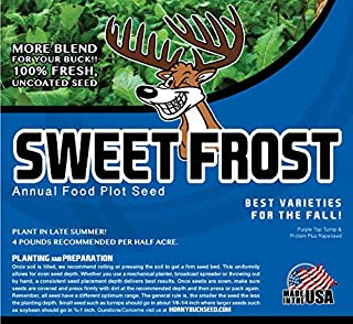 Horny Buck Food Plot Seed - Sweet Frost Blend Mix