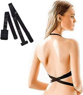Low Back Bra Extender 2 Hook/ 3Hook Bra Strap Converter for Women Lady Backless Dress
