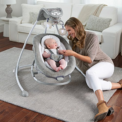 61fSbn9ngaL The Best Baby Swing with Lights and Music in 2021