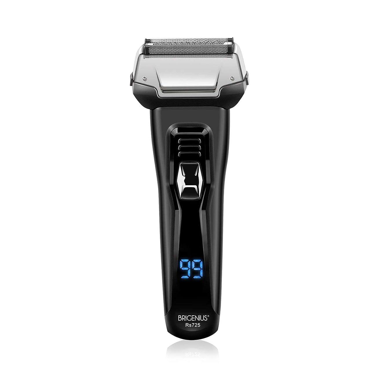 ジャグリング人事皮肉電気シェーバー 3枚刃 往復式 髭剃り ひげそり 水洗い お風呂剃り可 シェーバー LCD残量表示 USB充電式 深剃り トリマー付き 電気カミソリ メンズシェーバー