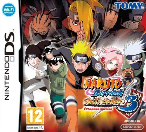 Tomy Naruto Shippuden Ninja Council 3, NDS - Juego (NDS, Nintendo DS)