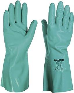 Maurer 15030835 - Guante nitrilo virgen alimentario, 33 cm,