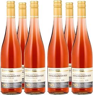 Weingut Mees SPÄTBURGUNDER ROSÈ TROCKEN 2018 KREUZNACHER ROSENBERG LAGENWEIN Roséwein Wein Deutschland Nahe Paket 6 x 750 ml 100% Blauer Spätburgunder
