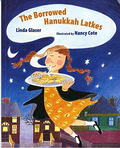 The Borrowed Hanukkah Latkes (Albert Whitman Prairie Books (Paperback))