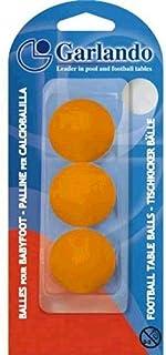 Garlando Blister Pack Of 3 Stan-dart Balls, Orange - GLND-BLI-3PA