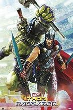 Thor: Ragnarok - Marvel Movie Poster/Print (Hulk & Thor - Gladiators) (Size: 24 inches x 36 inches)