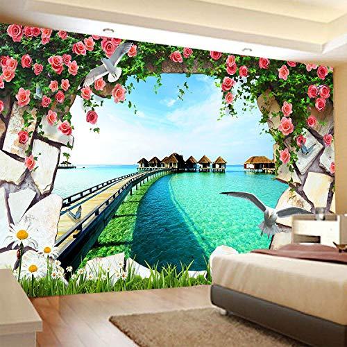 Paisaje bosque serie tapiz colgante de pared paño de pared decoración del hogar dormitorio sala de estar tapiz tela de fondo a1 180x200cm