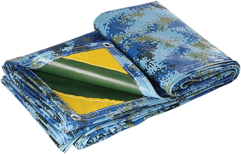 Tarpaulin Camouflage Tarps Waterproof Tarp with Grommets Tarpaulins Camping Tent Cover Sunscreen Cloth Sunshades Depot