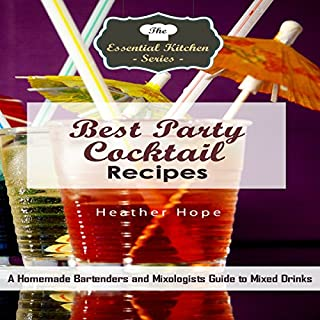 Best Party Cocktail Recipes audiobook cover art