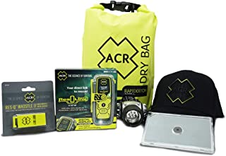 ACR ResQLink View Personal Locator Beacon Survival Bundle Kit with Hat
