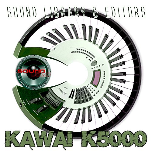 %44 OFF! KAWAI K-5000 - Large Original and New created Sound Library & Editors on CD or download